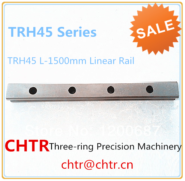 TRH45 L-1500mm Linear Slide Rail CNC Linear Guide Rail Linear Slide Track 45mm