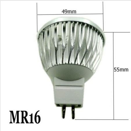 GLW MR16 LED Grow Light 3W 4W Spotlighting Hydroponic LED Bulb Garden Light Lamp Cup