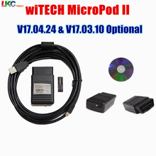 2018 Newest V17.04.24/V17.03.10 Version Witech MicroPod 2 OBD2 Diagnostic Tool witech MicroPod 2 with Multi-Languages Scanner