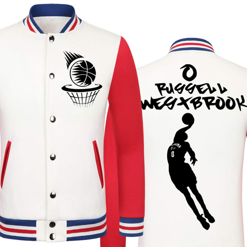 2016 Spring new Thundere Russell Westbrook casual jacket Big Fundamental cheap men winter jackets male coat boys jacket hip hop