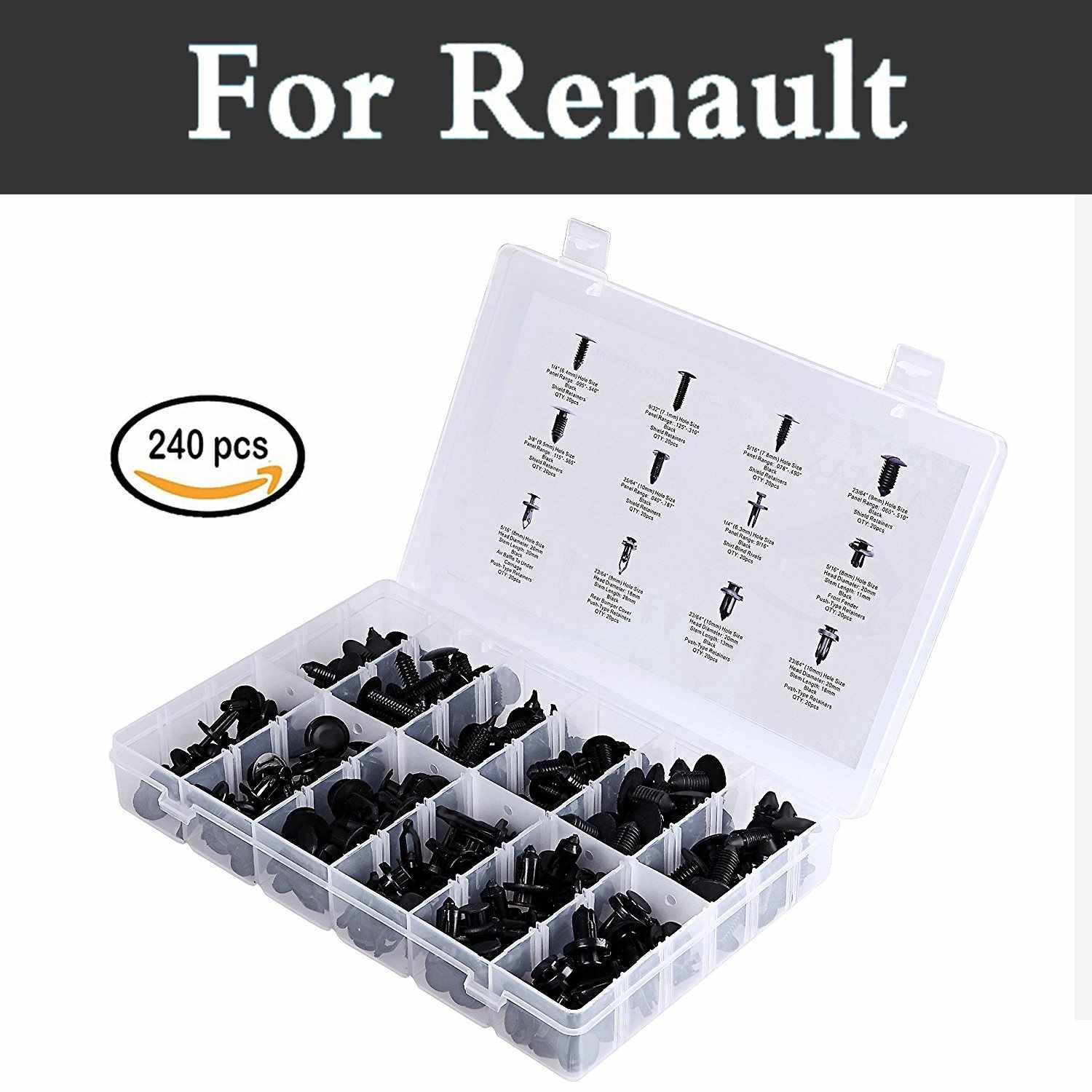 MOUNTING HOLDER CAR BODY TRIM CLIPS Renault