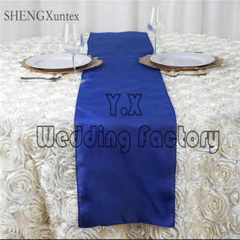 Wholesale Price Polyester Table Runner For Wedding Table Cloth Decorate