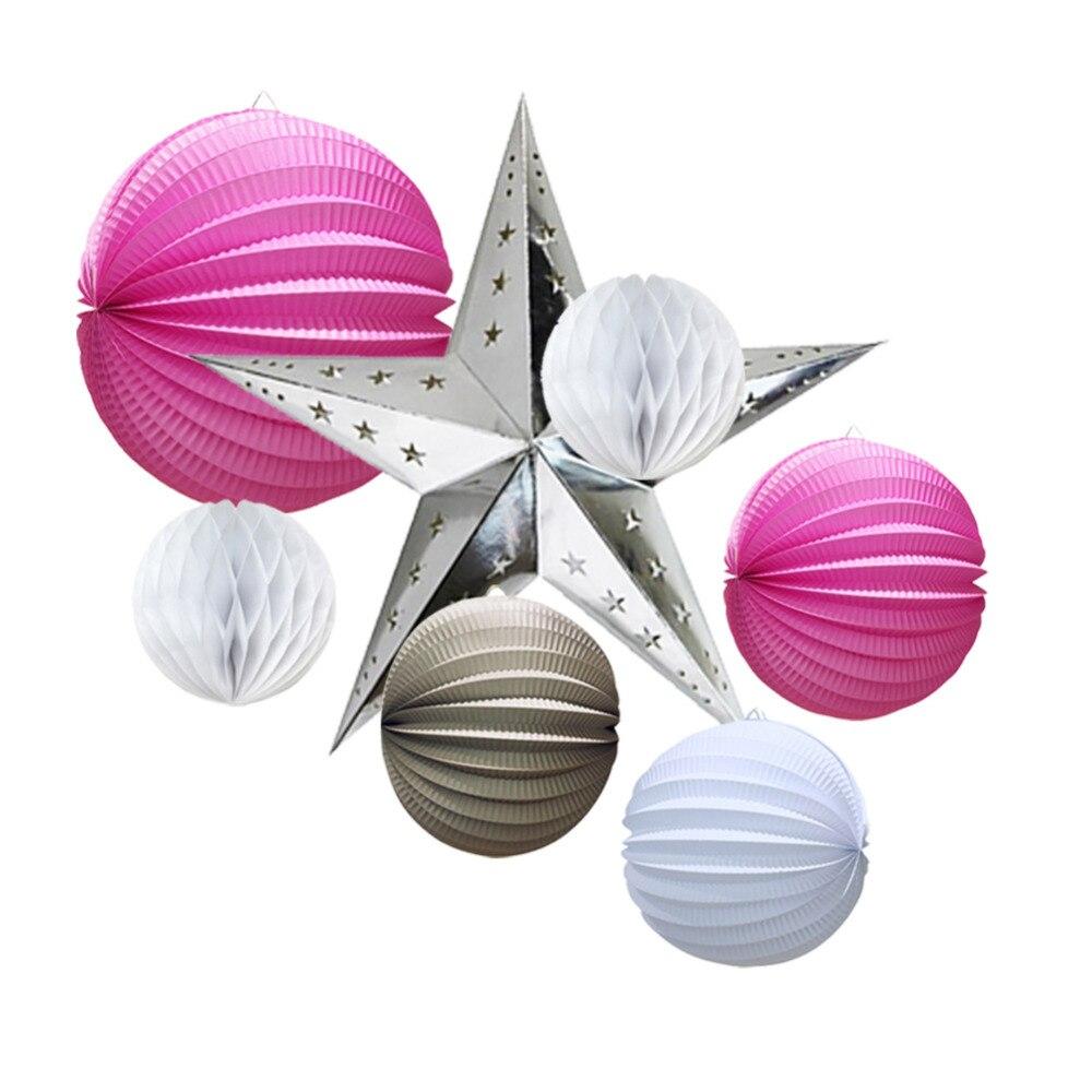 (Վարդագույն, մոխրագույն, սպիտակ) - Տոնական պարագաներ - Լուսանկար 4