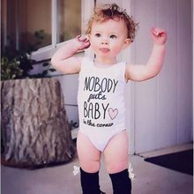 Summer Newborn Baby Boys Girls Clothes Sleeveless Romper Playsuit Jumpsuit Cotton Infant Outfits One Piece 0-24M