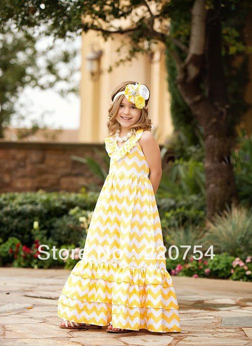 Collection Kids Maxi Dress Pictures - Reikian