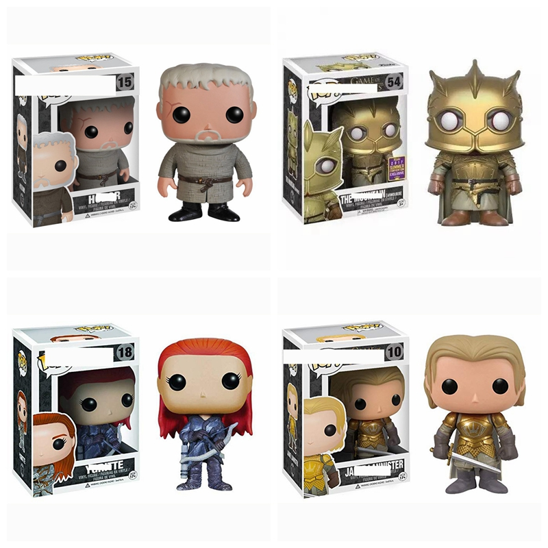Pop Game Of Thrones The Monutain Night King Jaime Lannister Ygritte Hodor Jon Snow brinquedos Action Figure toys for childrenPop Game Of Thrones The Monutain Night King Jaime Lannister Ygritte Hodor Jon Snow brinquedos Action Figure toys for children
