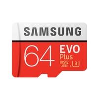 SAMSUNG Memory Card Micro Sd 64GB EVO Plus Class10 Waterproof TF Memoria Sim Card Trans Mikro