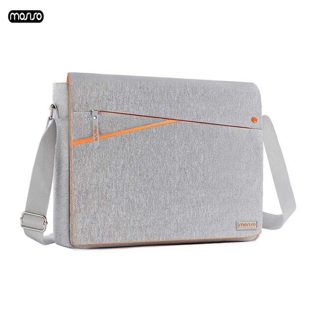 MOSISO Grote Capaciteit Laptop Schoudertas 11 12 13 14 15 15.6 inch Waterdichte Notebook Tas voor MacBook/Dell /HP/Lenovo/Acer/Asus