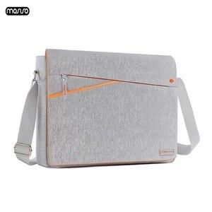 MOSISO Large Capacity Laptop Shoulder Bag 11 12 13 14 15 15.6 inch Waterproof Notebook Bag for MacBook/Dell/HP/Lenovo/Acer/Asus