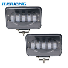 Barra de luz Led para coche 50 W 6 pulgadas LED lámpara de conducción de inundación para coche camión remolque SUV barco 12 V 24 V, 4X4, 4WD