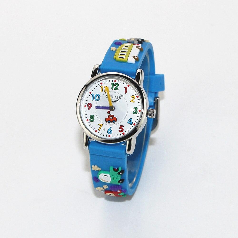 New Boys Children Wrist 3D Watches Cartoon Helicopter Watch