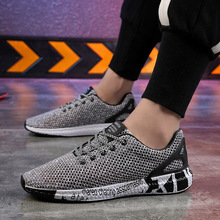 2019 new spring and autumn mens shoes sneakers casual board tide deodorant wild running net