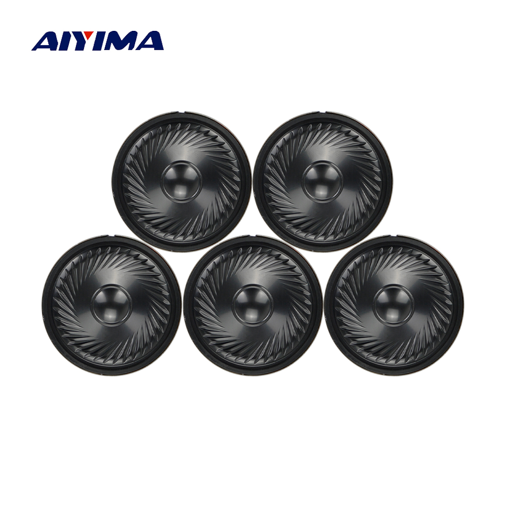 AIYIMA 10Pcs Mini Audio Portable Speakers 8Ohm 0.5W 20/50mm Headphone Speaker DIY For Earphone Speakers