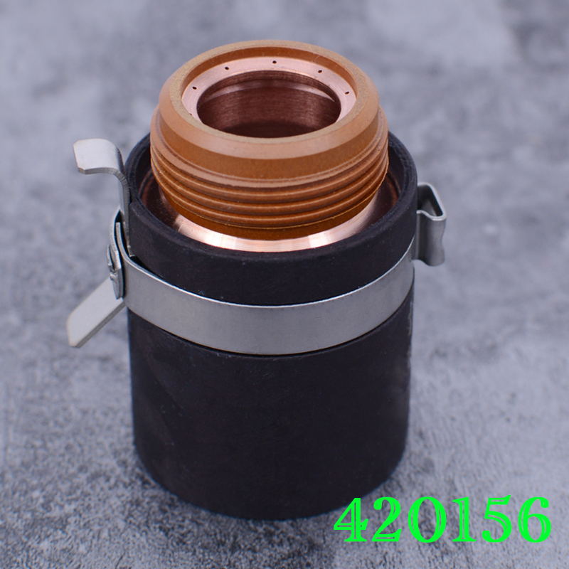 Fixed Cover 420156 220977 Electrode 220971 Nozzle 220975 420169 420158 Protective Cap 220976 420168 Eddy Current Ring 220997