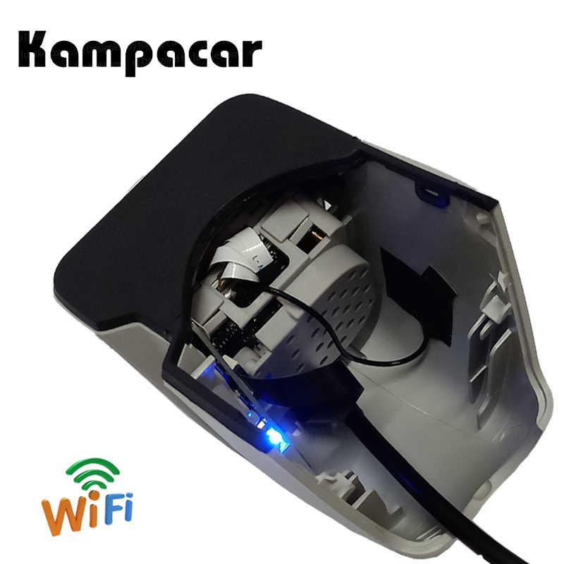 Kampacar тире Камера Wi-Fi зеркало заднего вида автомобиля Dvr Регистраторы для Audi A6 4f c6 A4 B7 B8 2006 2007 Q7 A6 C6 Allroad 2008 A5 2009 2010 видеорегистраторы
