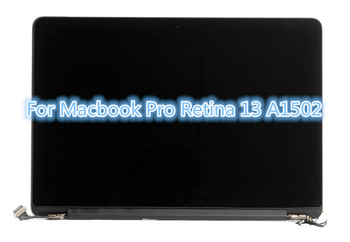 For Macbook Pro Retina 13 A1502 LCD Screen Complete Assembly Free of the silver protective film EMC 2678 EMC 2875