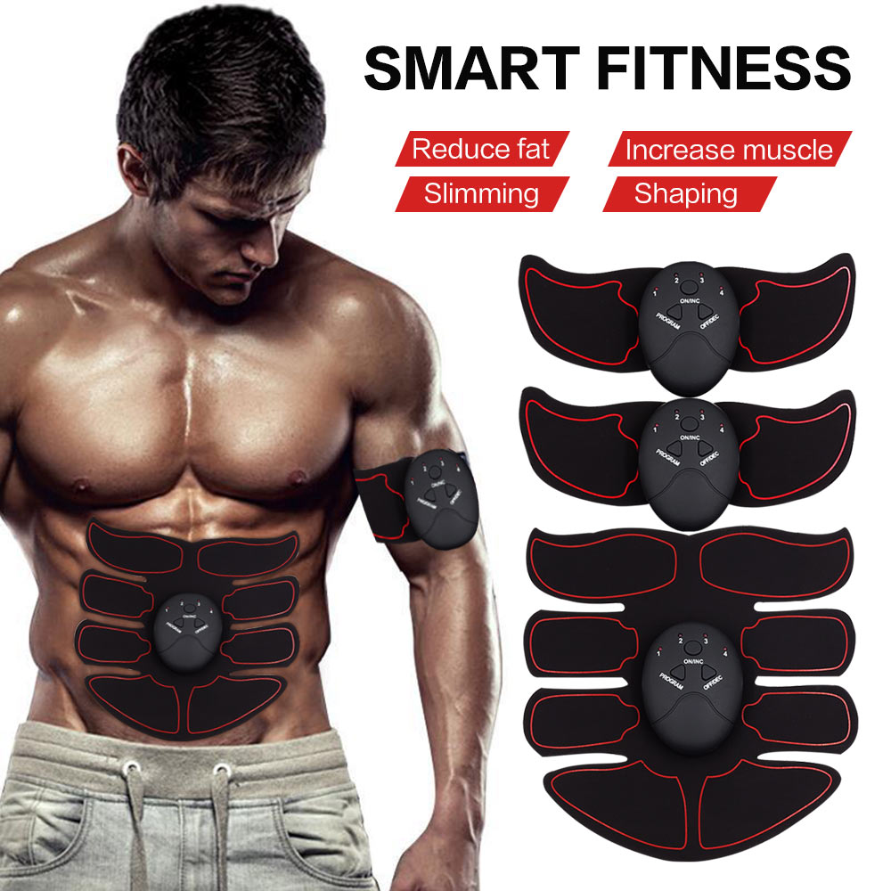 Massage & Relaxation Health Care Slimming Massager Shaper Ems Abdominal Muscle Trainer Smart Abs Stimulator Sculpting Massager Pad Fitness Gym Arm Stickers