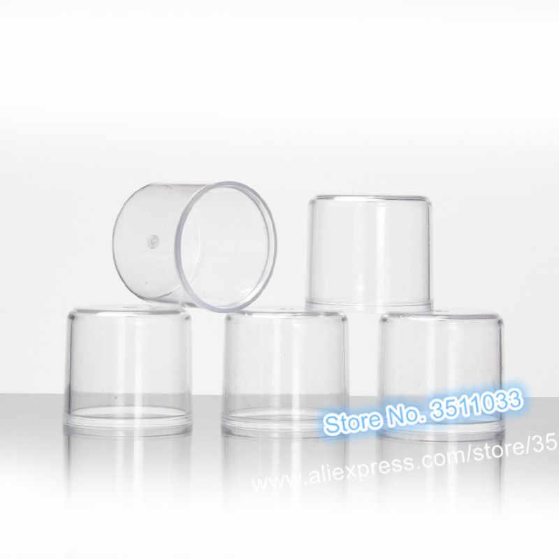 10 ADET 30 ml Açık Mavi Cam Kozmetik sıvı sprey şişesi 20 ml Kozmetik Boş Doldurulabilir Losyon Beyaz pompa şişesi 20g Krem kavanoz