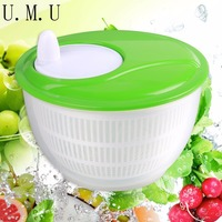 Novelty Kitchen Accessories 4 5L Mini Kitchen Salad Spinner Dry Strain Herbs Lettuce Vegetables Washer Drainer