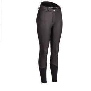Image 4 - Kobiety bryczesy jeździeckie kobiety miękkie oddychające SkinnyTight spodnie jeździeckie jazda konna nauka Chaps czarny brązowy