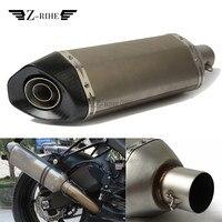 Универсальный 36 51 мм для KTM 65 85 250 125 SX KLX250 KLX450R 450 530 EXC мотоцикл выхлопной трубы глушитель Escape