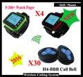 Botão para o Sistema de Paginação Serviço de garçom sem fio com Relógio Pager para o restaurante Fast food K-300pls euqipment