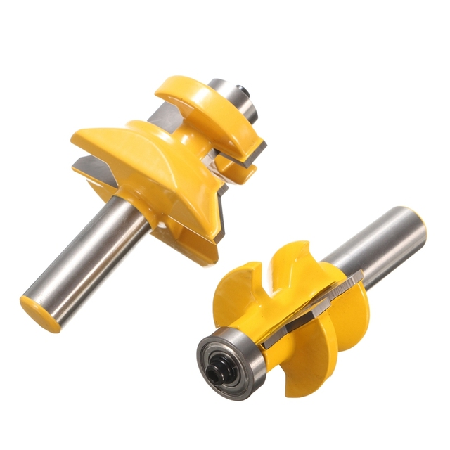 Durable In Use 1 Set 45 Degree Router Bit 1 2 Inch X 3 Inch Notch