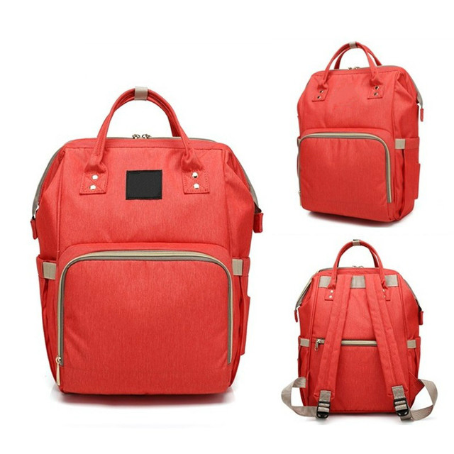 Fashion Mum Maternity Large Nursing Bag High-capacity Travel bag Designer Stroller Baby Care Waterproof Backpack.women bookbag-7