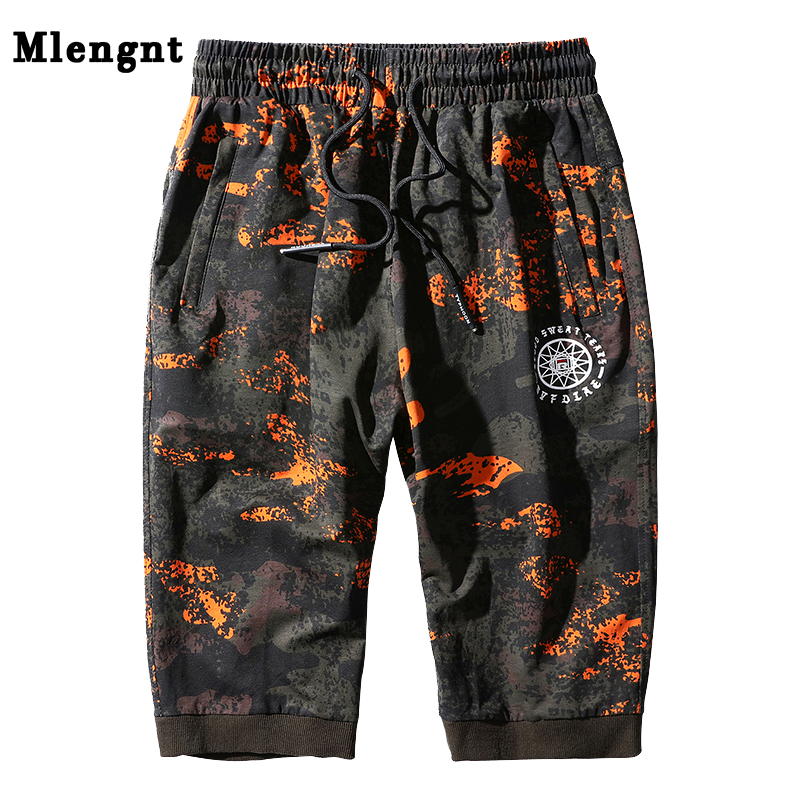 Plus Size L-8XL Summer Male Cotton Camouflage Baggy Shorts Big Size Male Casual Thin Fitness Bermuda Bodybuilding Short Trousers