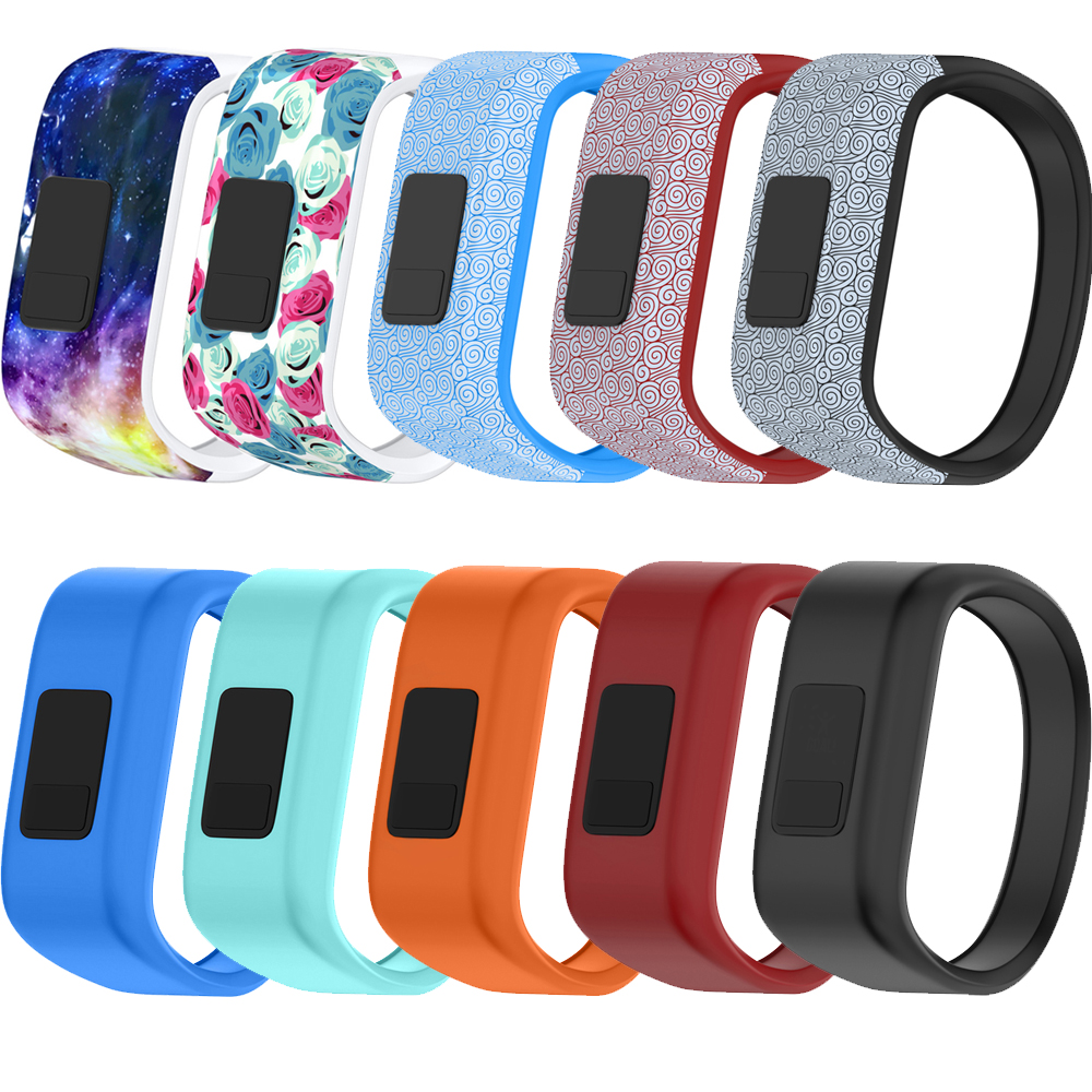 5colors Soft Wrist Bracelet Band Strap Holder for Garmin