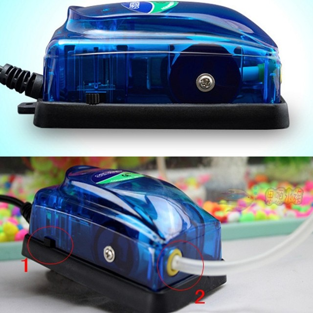 Best Price 3w 5w Adjustable Aquarium Air Pump Fish Tank Oxygen Air Pump Single/double Outlet More Choices You May Like