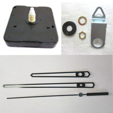 Wholesale 10 set shaft 16.5 mm New Quartz Clock Movement for Clock Mechanism Repair DIY clock parts accessories JX051