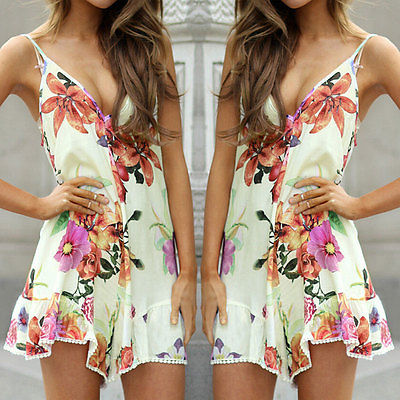 574874864f8f Hot Women Sexy Celeb Playsuit Party Evening Summer Beach Shorts Jumpsuit
