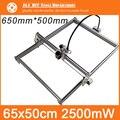2500mW DIY Mini Laser Engraving Machine, 65*50cm Engraving Area ,Mini Marking Machine, Advanced Toys , Best Gift