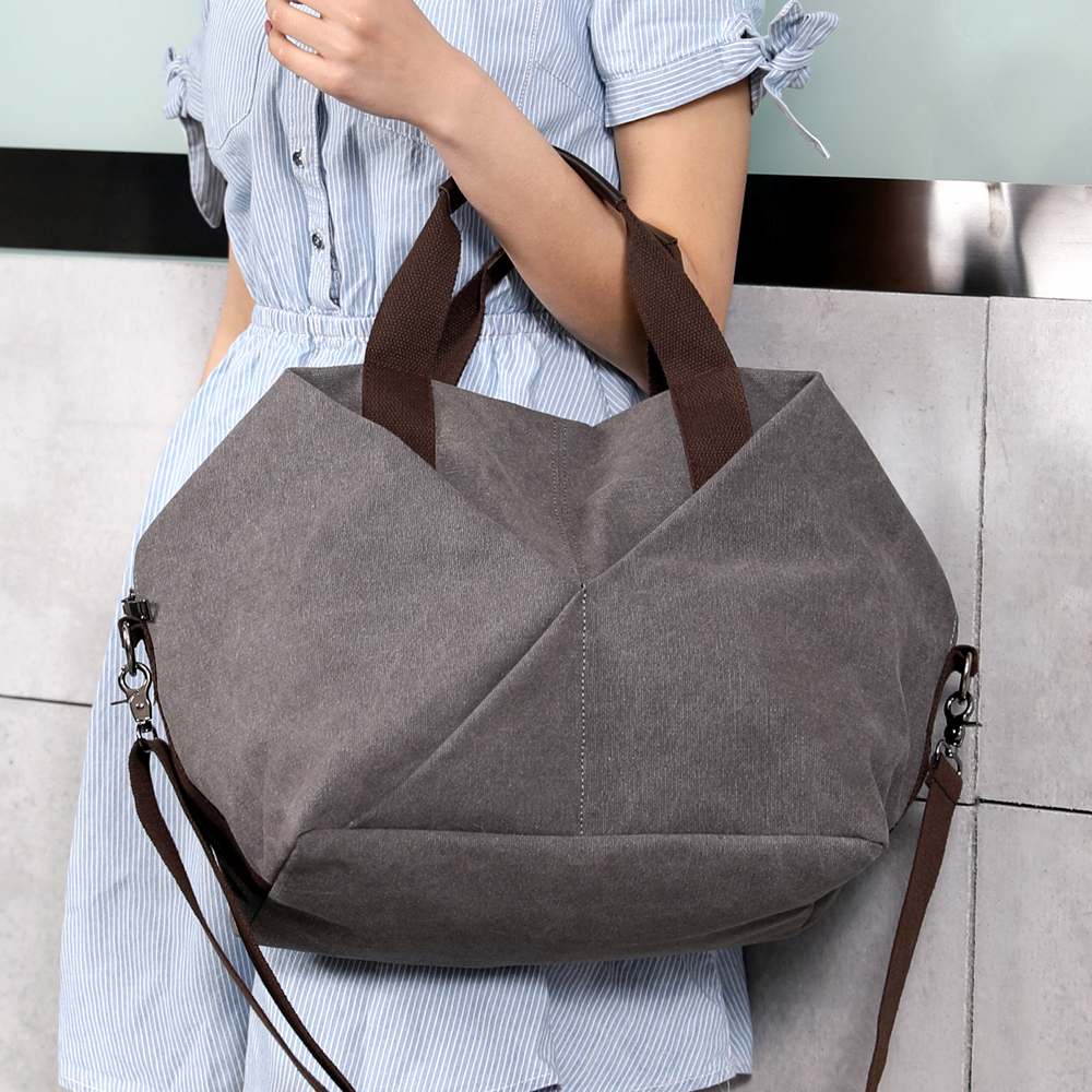цена New Arrival Women's Handbags Soft Canvas Female Hobos Bags Vintage Ladies Totes Bag Large Capacity Shoulder Bag For Travel