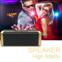 Itek Outdoors Portable Wireless Bluetooth Speaker Music Player Loudspeaker Speakers Support AUX Line TF Card FM Radio with Mic