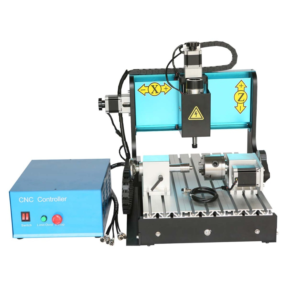 JFT CNC Router 3040 600W 4 Axis with USB 2.0 Port High Precision Mini Jewelry CNC Router Wood Engraving Drilling Milling Machine  high precision table moving 4 axis cnc mini router 3 axis mini cnc router metal engraving machine 3030 4040 6060