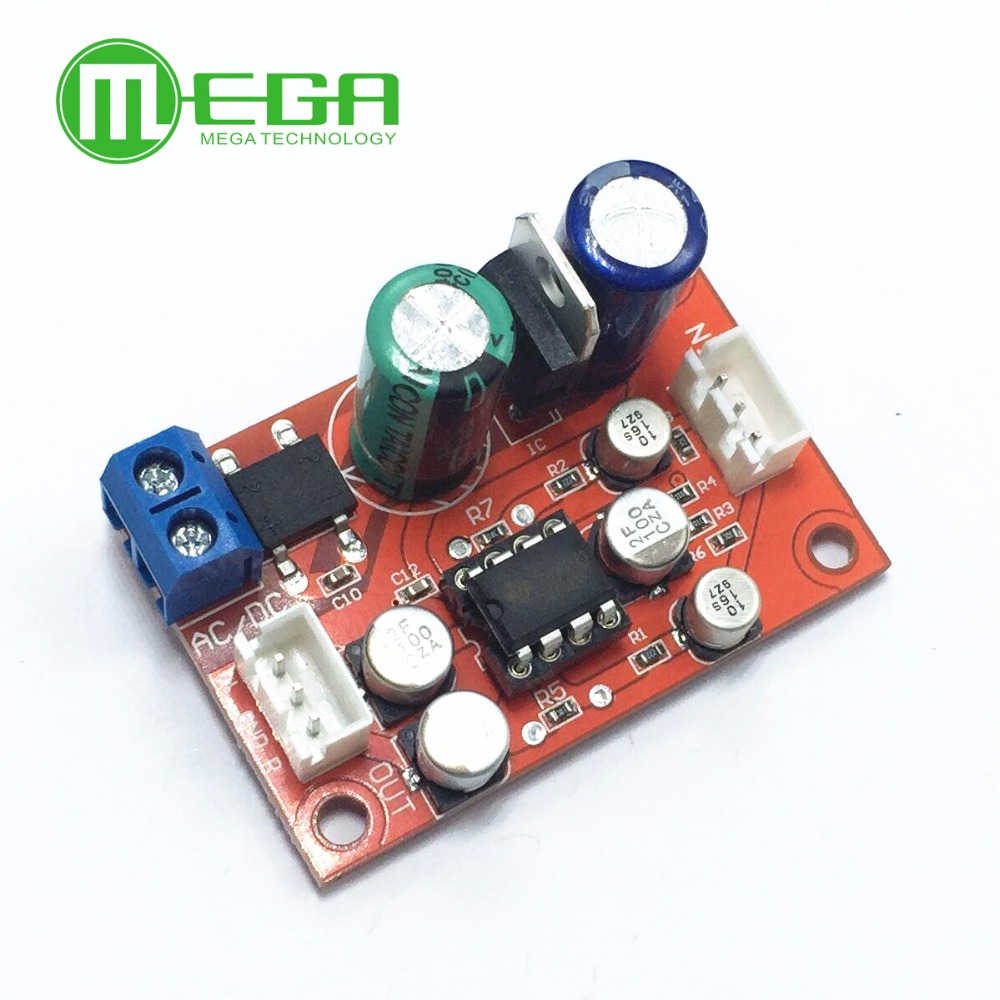 Rectifier Bridge Ne5532 Audio Op Amp Microphone Preamps Pre Circuit Amplifier Board Ic Socket Dc 9 24v Ac 8 16v Diy Kit In Integrated Circuits From