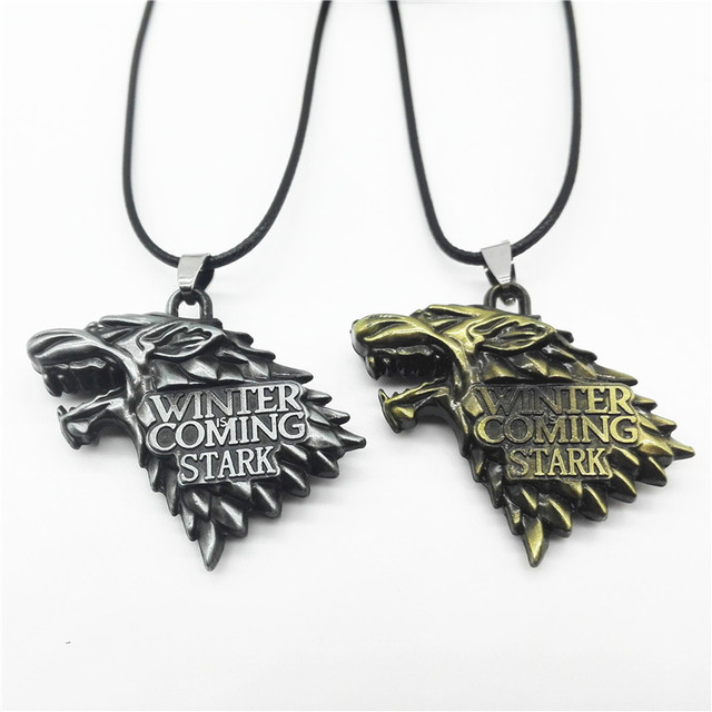 Fashionable Game of Thrones Alloy Pendant Necklace Jewelry