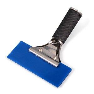 Image 3 - EHDIS – raclette à manche avec lame en caoutchouc BLUEMAX, essuie glace de voiture, pelle à neige, teinte de fenêtre, outil de nettoyage domestique de cuisine