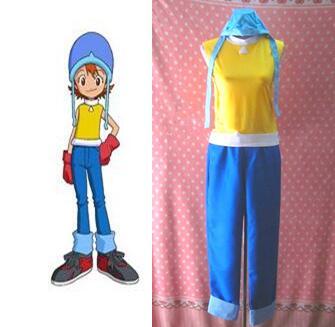 Digimon Adventure Sora Takenouchi Cosplay Costume-in Anime ...