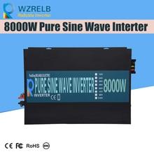 Inverter 12V/24V 8000W Peak Power Inverter Voltage Convertor Transformer 48V Automatic Adaptable 4000w 8000w peak 4000 8000 watt 12v to 220v power inverter charger