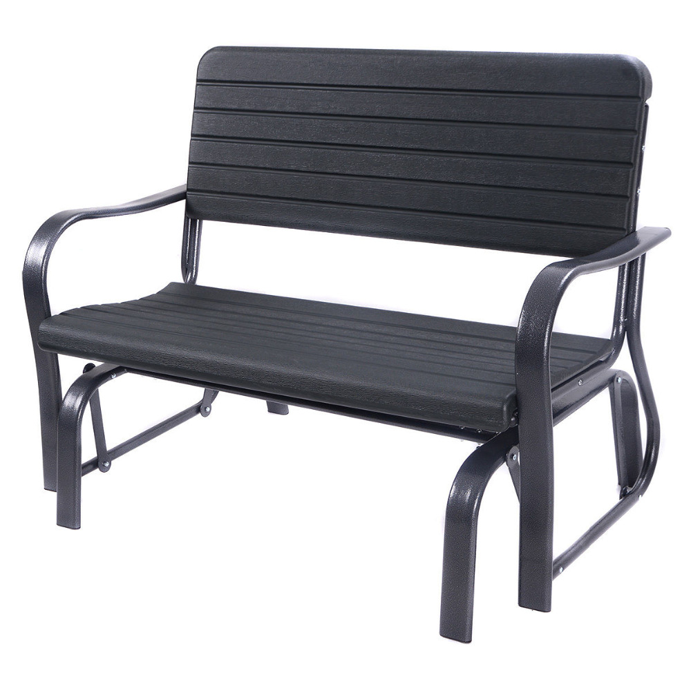 outsunny home depot here bench modest duty s chair patio double the heavy rocker it gliders interior chairs from outdoor furniture swing glider