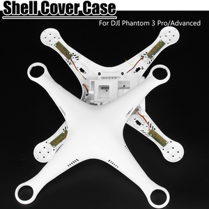 Shell Cover Case upper cover 1pcs bottom shell 1 set of screws And 1pcs upper cover Perfect fit for DJI Phantom 3 Pro/Advanced
