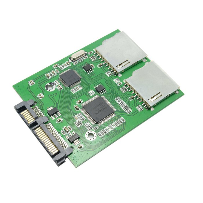 20pcs / lots Dual SD SDHC MMC Memory Card to 7+15 Pin 22pin SATA Male Convertor Kit RAID Adapter ,By Fedex free shipping tracking number standard sd sdhc mmc memory card to 7 15 pin 22pin sata male convertor kit adapter convertor card