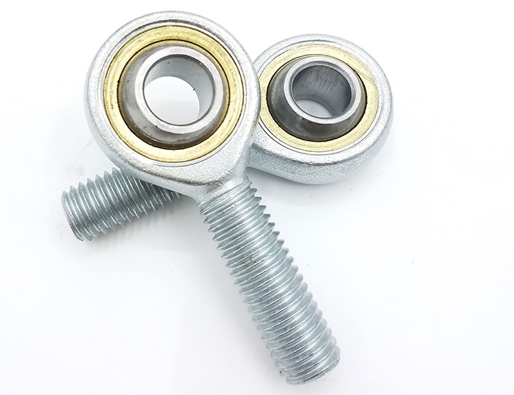 2pcs 8mm Male Left Hand Metric Threaded Rod End Joint Bearing