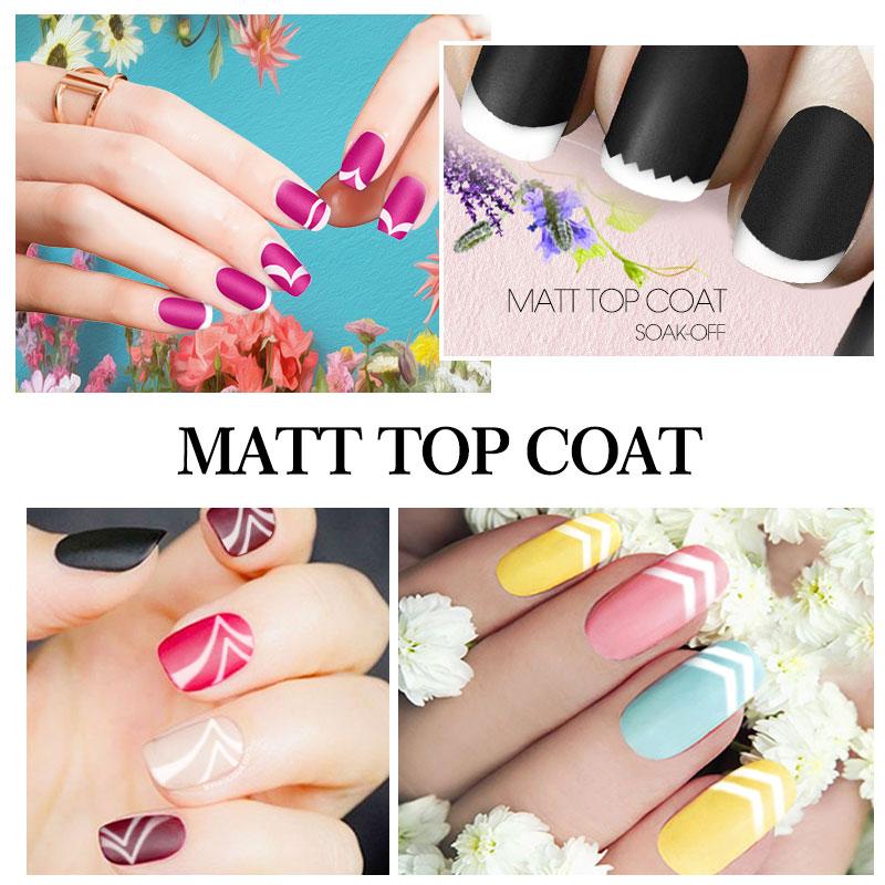 Nail Art Top Coat Matte - Best Nail 2018