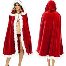 Velvet Adult party perform Caps Long hair Cloak Dress skirt mascot sexy cosplay christmas costume mascot cosplay mascotte anime