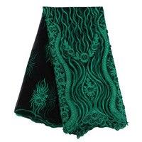Boda nigeriano Africana Del Cordón Francés tela de encaje con piedras de Alta Calidad telas de Encaje de Tul vestido En Línea barata