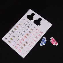 1 Set 1 Boxes 1/12 Scale Dollhouse Miniature Poker Card Pretend Play Toy Hot sale(China)